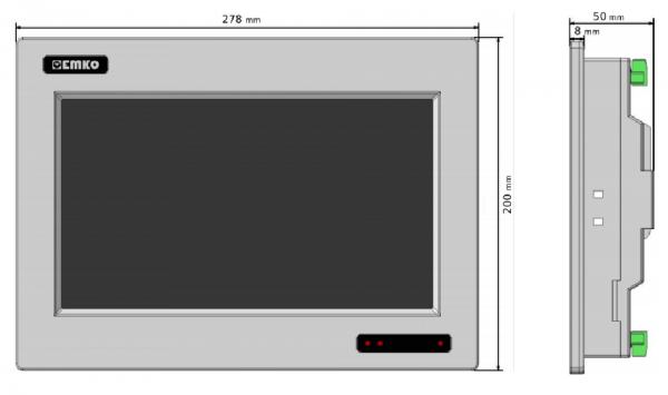 màn hình HMI Emko 10inch