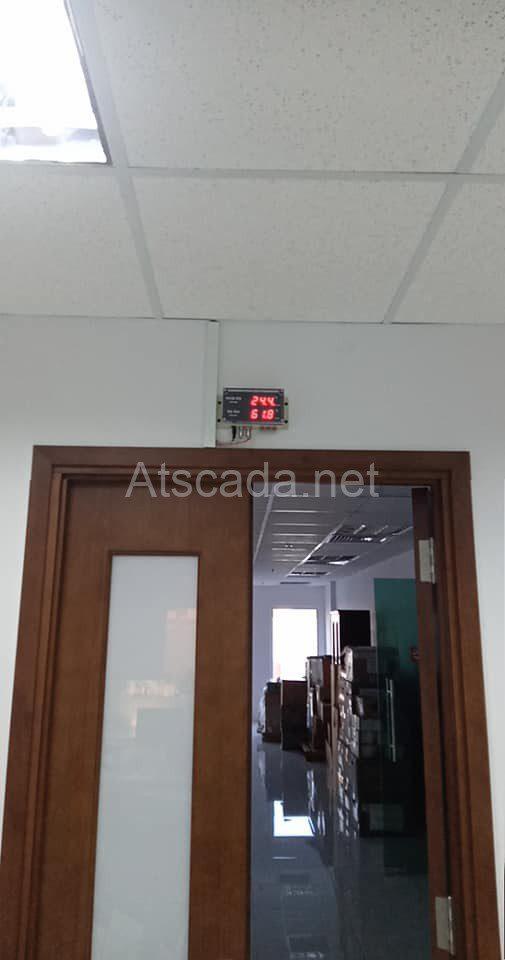 hệ thống giám sát phòng máy chủ