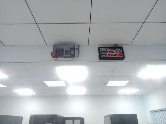 giám sát cảnh báo nhiệt độ phòng máy chủ