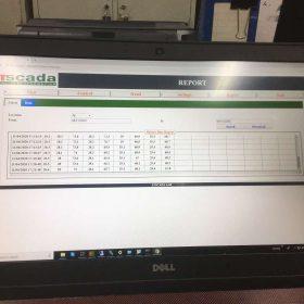 giao diện phần mềm giám sát cảnh báo nhiệt ẩm